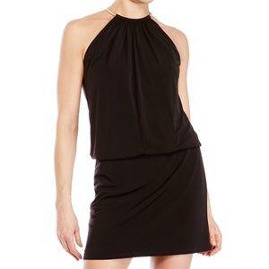 Jessica Simpson Black Halter Dress Size 8